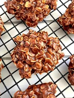 Chocolate Peanut Butter No Bake Cookies!