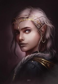Elves Fantasy, Fantasy Races, Fantasy Rpg, Fantasy Weapons, Fantasy Series, Fantasy Character Design, Character Design Inspiration, Character Art, Character Reference