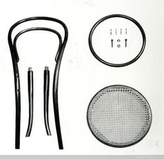 Chair 14 Quartering, Thonet