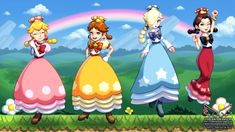 New Super Mario Girls U Deluxe 18 by theskywaker on DeviantArt Princesa Daisy, Princesa Peach, Super Mario Princess, Nintendo Princess, Metroid, Super Mario Bros, All Mario Games, Mario Comics, Mario Fan Art