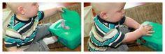 Stoff anstatt feuchttüchern zum rausziehen...Die 10 kreativsten DIY Aktivitäten für 1-2 Jährige