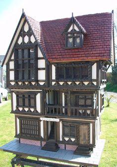 Pilgrims Rest Tudor dollhouse