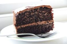 I think this is the ultimate chocolate layer cake.  The thing that really knocks you out is the cake itself.  It is sooo seriously moist an...