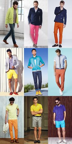 Men's SS13 Fashion Trend: Neon & Fluorescent Colours | FashionBeans