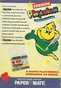 Canetinhas Playcolor (1992).