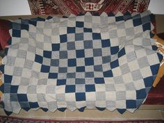 weave-it loom throw with knitted edging | Flickr - Photo Sharing!