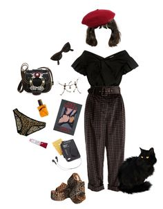 """so #edgy"" by hardtoluv on Polyvore featuring Rachel Comey, Isa Arfen, Miu Miu, Ray-Ban, Vivienne Westwood, Flidais Parfumerie, Forever 21 and Westinghouse"