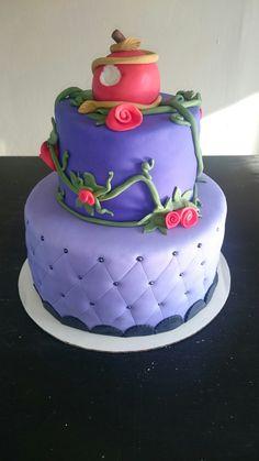 Disney descendants cake                                                       …