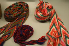 Finger Weaving, Viking Knit, Friendship Bracelets, Band, Knitting, Accessories, Sash, Tricot, Breien