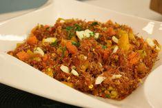 Farofa Picante de Carne Seca com Abóbora | Receitas | Dia Dia