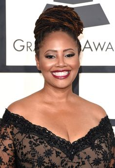 Lalah Hathaway | 22 Celebrities Who Slayed The World With Their Locs
