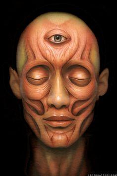 Third Eye by Naoto Hattori, 2010 | Gif