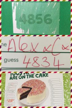 We done the hundreds & thousands game this morning and the winner was our very own Alex!! Well done Alex xx