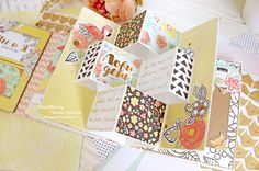 ScrapMir: СП Lovely mini 5 этап. Необычный миник от Марины Игнатовой Scrapbook Journal, Mini Scrapbook Albums, Baby Scrapbook, Tarjetas Pop Up, Paper Crafts, Diy Crafts, Happy Birthday Cards, Mini Books, Paper Cutting
