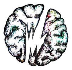 Brainfeeder Brain Ilustration - John Davies