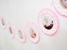 Romantische+Foto-Girlande+mit+8+Fotos+from+KlebBlatt+by+DaWanda.com
