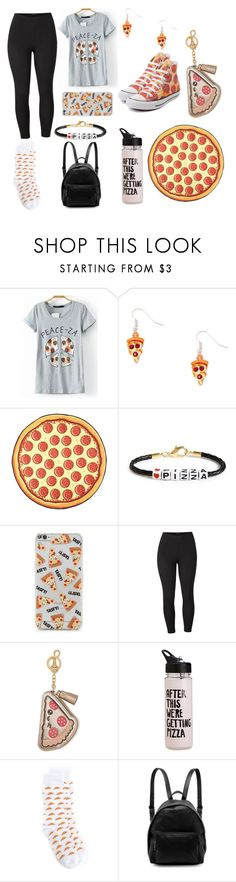 """Pizza"" by asia-davis-i ❤ liked on Polyvore featuring Ryan Porter, Forever 21, Venus, Converse, Anya Hindmarch, ban.do, CITYSHOP, STELLA McCARTNEY and plus size clothing"