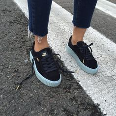 PUMA CREEPERS - BLUES