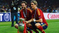 Torres and Mata - UEFA EURO 2012 Final