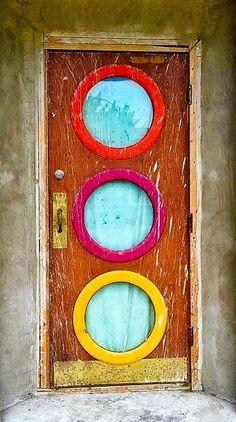 Looks like an old theater door.
