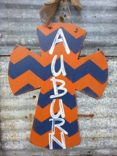 Auburn+XLarge+Handpainted+Distressed+by+shabbyandsuchdesigns,+$40.00