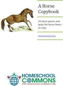 Gardeners & Horse Copywork Free Download - FOR THE WILD HORSES OF SWEETBRIAR OR THE FINEST HORSE IN TOWN.