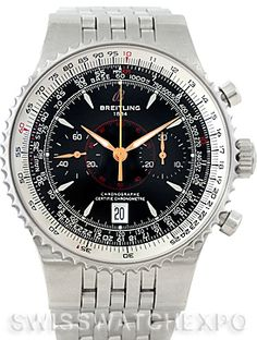 Breitling Montbrillant Legende Steel Mens Watch A23340