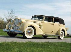 1938 Packard Super Eight Convertible Sedan