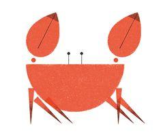 Ellie Tzoni Illustration Crab