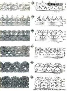 Puntillas crochet patron