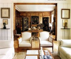 The Peak of Chic®: Paolo Moschino At Home Red Walls, Drawing Room, Architectural Digest, Wow Products, Dining Room Chairs, Great Rooms, Moschino, Home And Garden, Gloucester