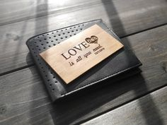 Engraved Wallet Insert Card  Personalized Wallet by BlessingCard on #Etsy