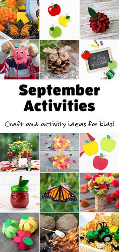 Explore a wide variety of easy and fun September Activities that are both educational and focused on the family. Perfect for school or home! #firefliesandmudpies #septemberactivities #kids via @firefliesandmudpies