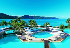 Hayman Island Resort is luxurious five star resorts located on Heyman Island, Great Barrier Reef. Dream Vacation Spots, Need A Vacation, Vacation Places, Vacation Destinations, Dream Vacations, Places To Travel, Romantic Destinations, Romantic Getaways, Great Barrier Reef