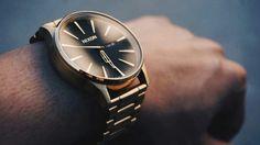 Sentry/gold/black/watch