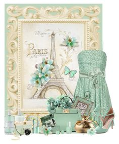 """vintage mint to be ...."" by tinkertot ❤ liked on Polyvore featuring Moschino Cheap & Chic, EASEL, Fendi, DuWop, Charlotte Russe, Essie, H&M, Williams-Sonoma, Lomography and Kate Spade"