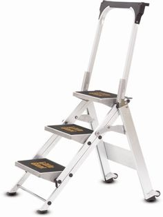http://www.officeproductsideas.info/little-giant-ladder-systems-10310ba-safety-step-stepladder-with-handrail-3-step-review/ - View larger Feels Like You're Standing on the Ground The Little Giant Safety Step is a unique combination of strength...