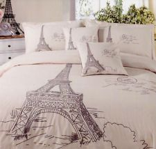 Queen Bed Size Doona Quilt Cover Set MA Cherie Paris Eiffel Tower ... : eiffel tower quilt cover - Adamdwight.com