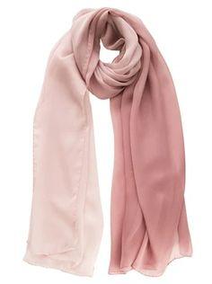 Pink Chiffon Shawl - Silk - Made in Italy Chiffon Shawl, Silk Chiffon, Teen Fashion Outfits, Hijab Fashion, Womens Fashion, Light Scarves, Italian Women Style, Dress Indian Style, Mode Hijab