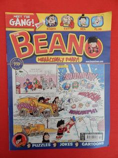 Beano Christmas/NY edition Comic 29th December 2007 - Nostalgic/retro gift - VGC