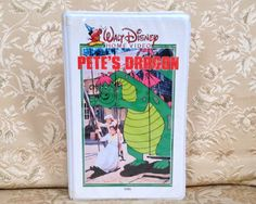Pete's Dragon VHS 1985 White Clamshell Release ~ Walt Disney Classic Film ~ Collectible Video 10V