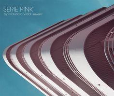 "Fotografías ""Serie PINK"" arquitectura by Mauricio Vidal #buildinglovers #building #architecture #architexture #looup #perspective #lookup #pinkcolor #ibiza"