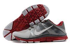 8d1370624ca935 Nike Free Trainer 5.0 Men s Training Shoes Grey White-Red Nike Free Runs