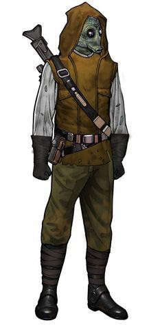 I like that vest/hood
