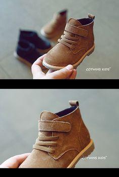 52ddb85a0 Cctwins kids otoño marca niños botines botas de bebé niños shoes girls  botas niño botas de ante marrón de cuero genuino en Botas de Mamá y bebé en  ...