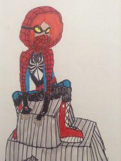 Spider girl in my own design