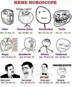 Meme Horoscope Funny, Meme, memes