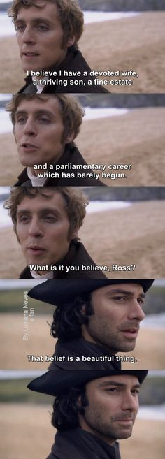 Ross told Elizabeth to tell George that Valentine is not his son and then he says this.do you want George to kill you or smtng Poldark 2015, Ross Poldark, Bbc Tv Series, Series 3, Tv Show Quotes, Movie Quotes, Jack Farthing, Ross And Demelza, Aidan Turner Poldark