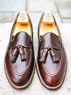 Alden Tassel Loafer in Horween Dark Brown Chromexcel