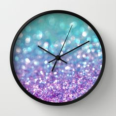 Tango Frost Wall Clock by Lisa Argyropoulos